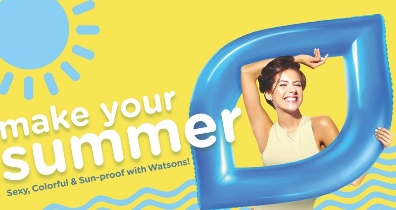 Watsons-Make-your-summer-campaign